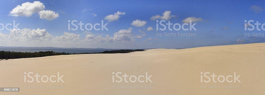 dunes panorama 2 royalty-free stock photo