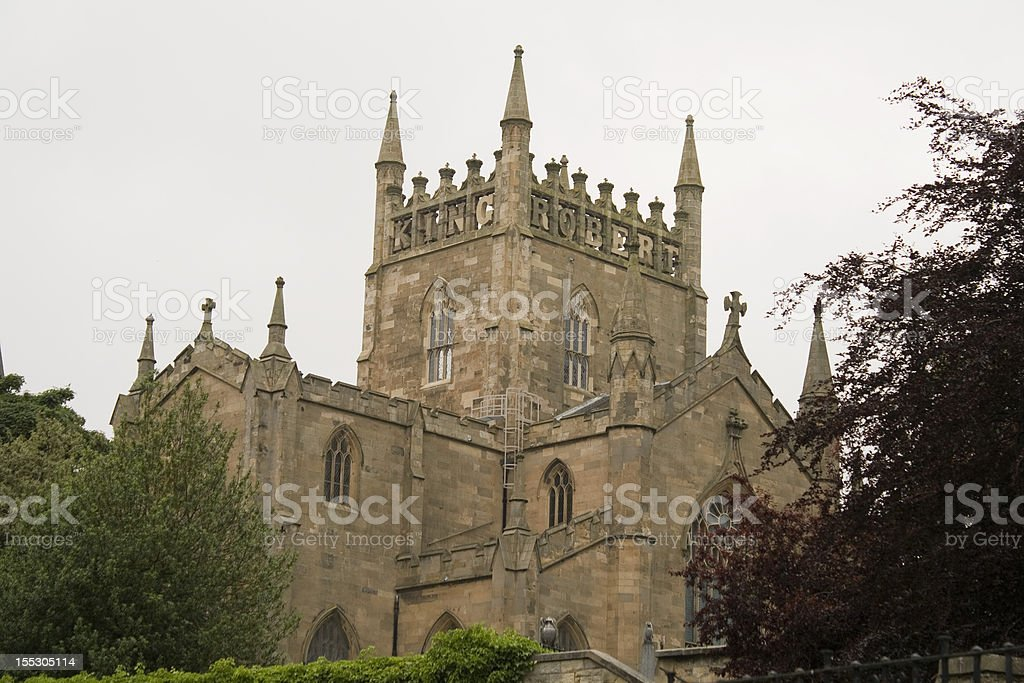 Dunfermline Abbey stock photo