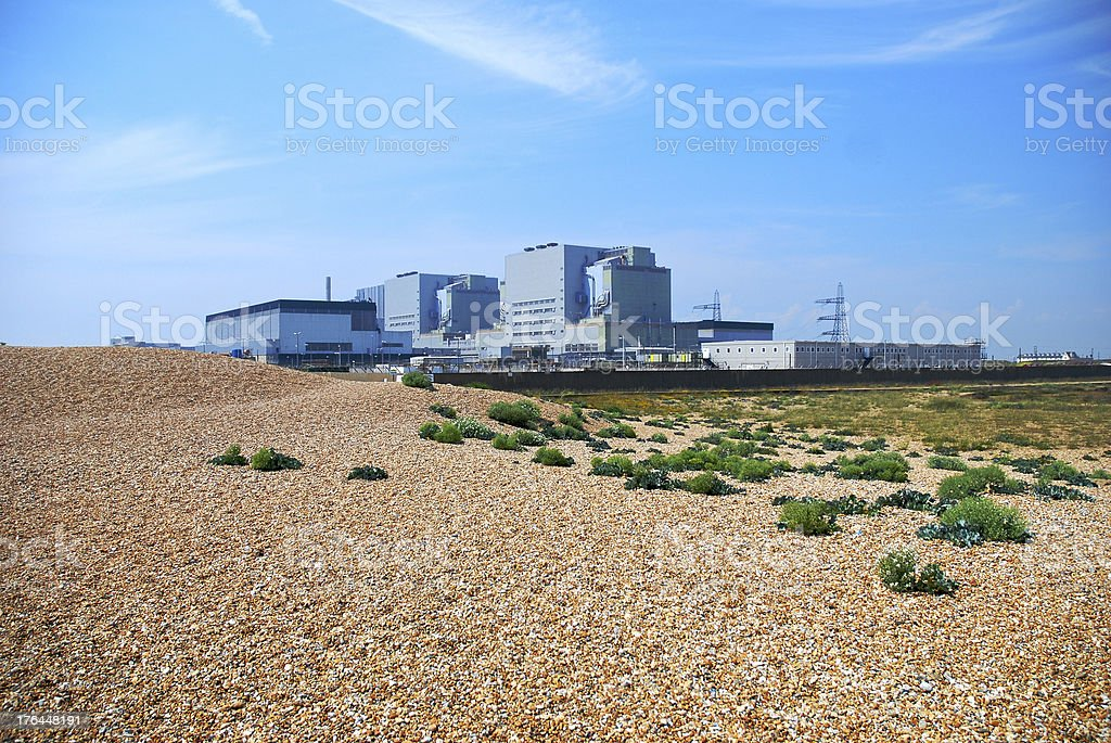 Dungeness Nuclear Power Station. royalty-free stock photo