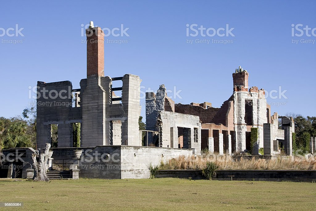 Dungeness Ruins royalty-free stock photo