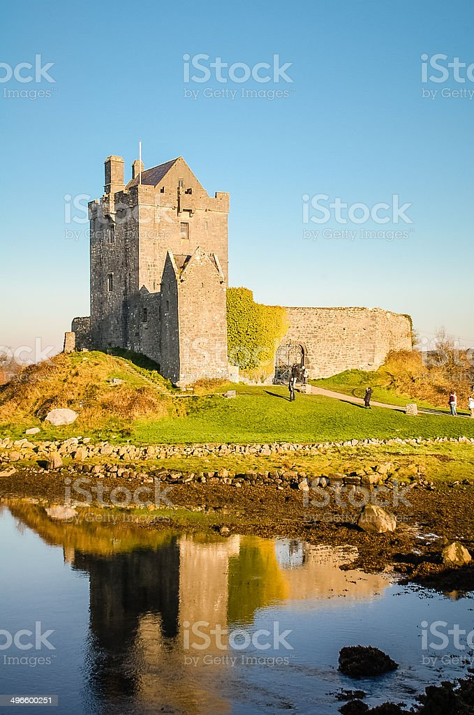 Dunguaire Castle, County Galway, Ireland royalty-free stock photo