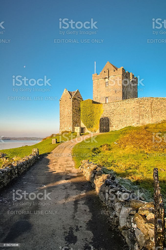 Dunguaire Castle, County Galway, Ireland stock photo