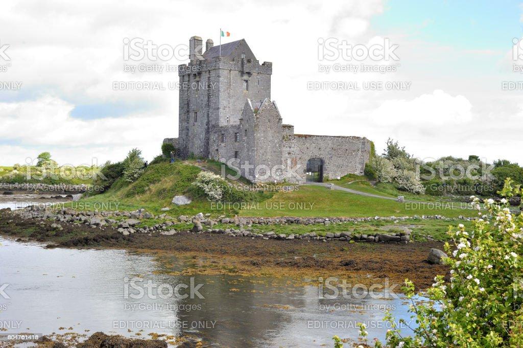 Dunguaire Castle exterior. stock photo