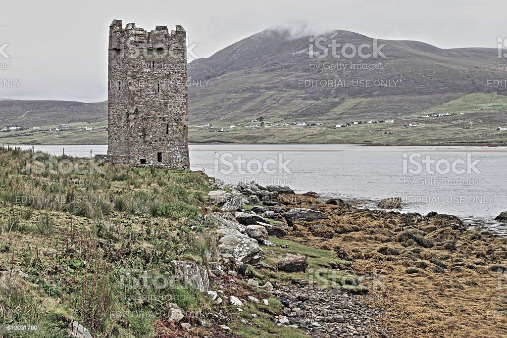 Dunguaire castle - HDR stock photo