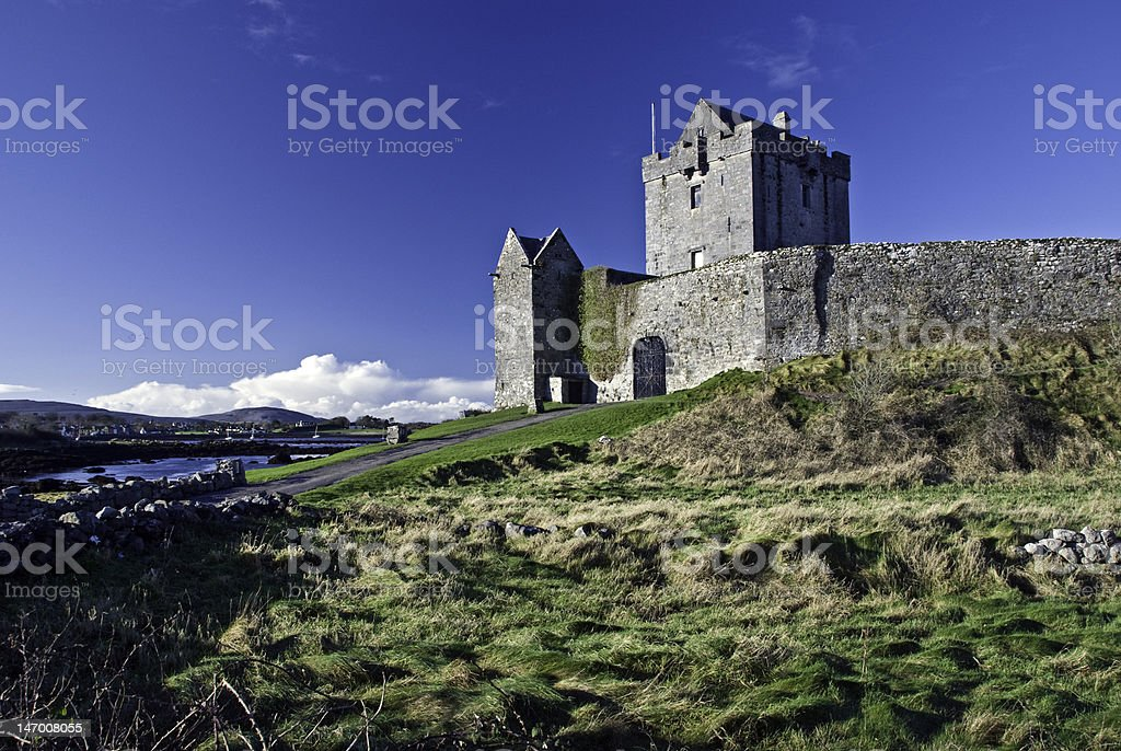Dunguaire castle in Kinvara County Galway Ireland stock photo