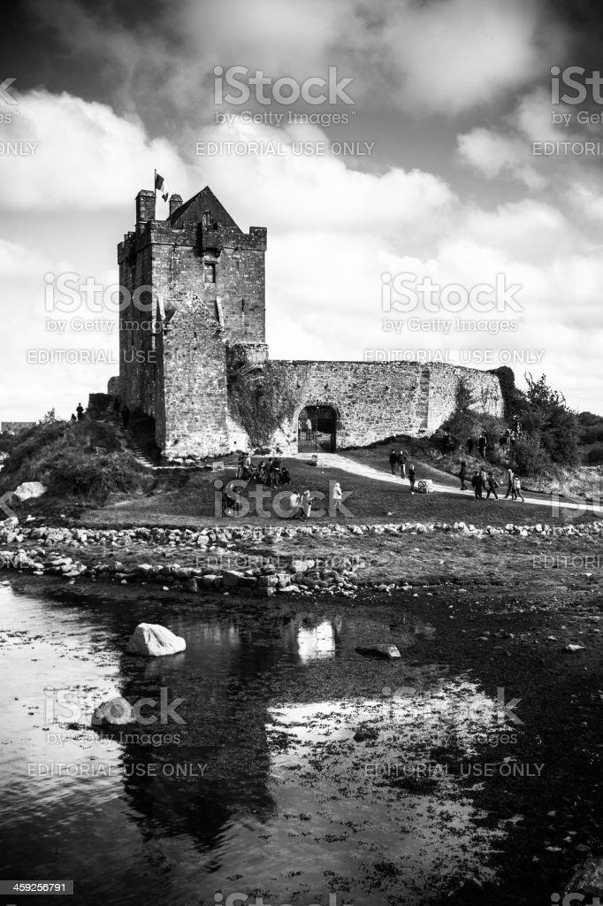 Dunguaire Castle in Kinvara, Ireland stock photo
