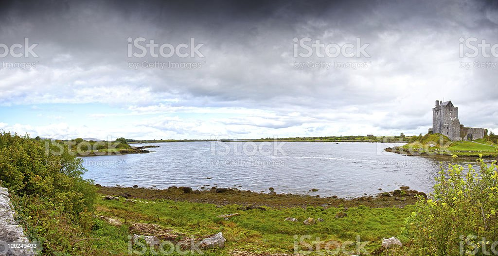 Dunguaire Castle. Ireland stock photo