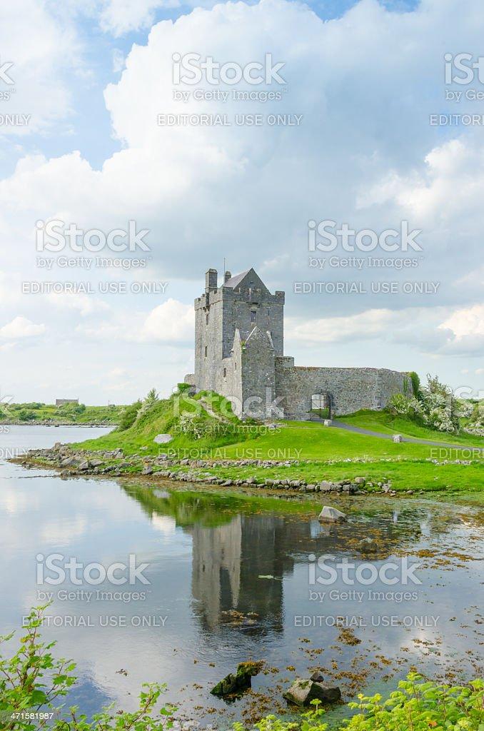 Dunguaire Castle, Ireland stock photo