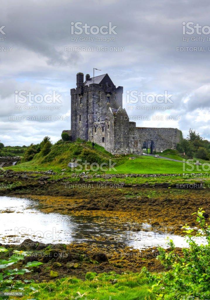 Dunguaire Castle stock photo