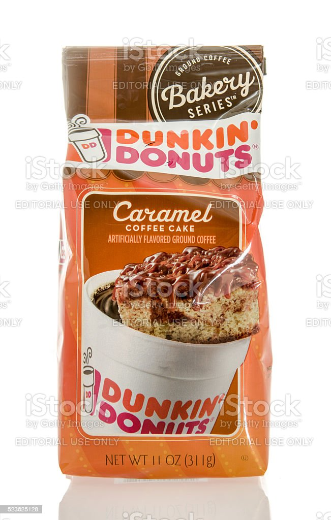 Dunkin ' Donuts Coffee stock photo