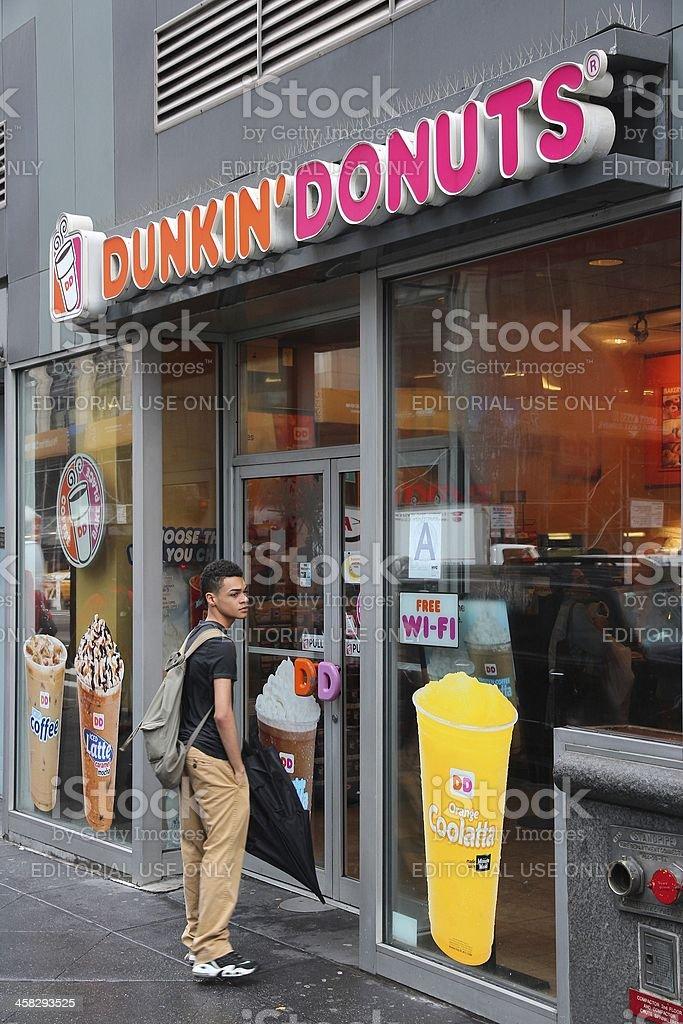 Dunkin Donuts stock photo
