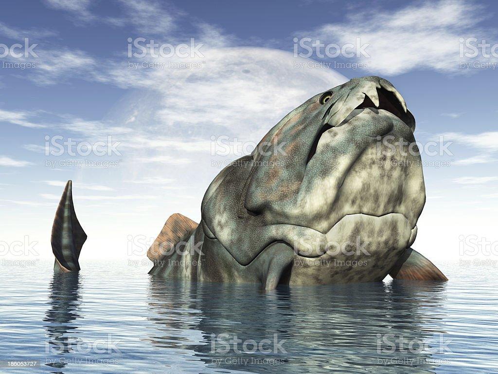Dunkleosteus stock photo