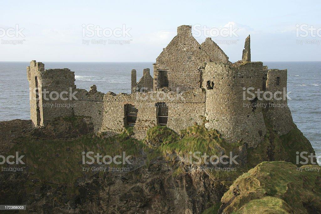 Dunluce Castle, County Antrim stock photo