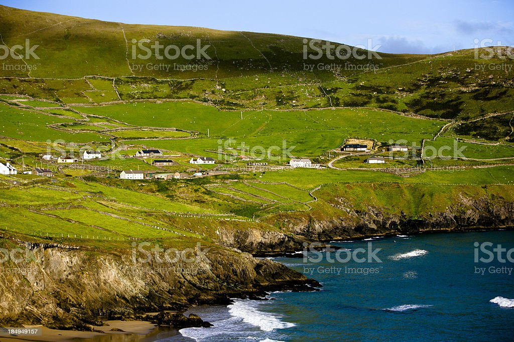 Dunmore Head - Ireland stock photo