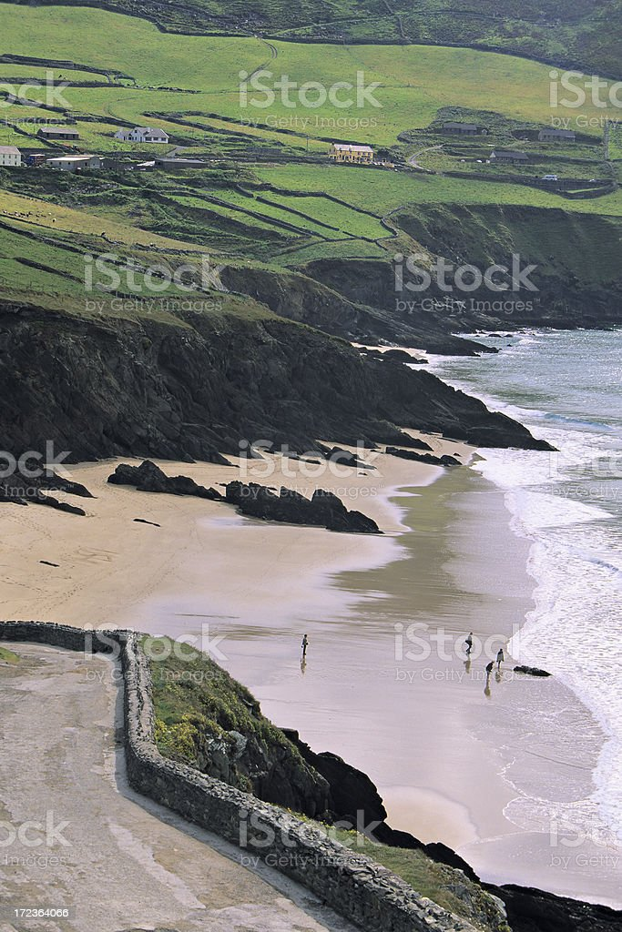 Dunmore Strand royalty-free stock photo