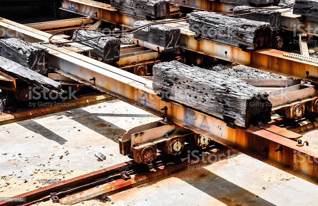 Dunnage stock photo