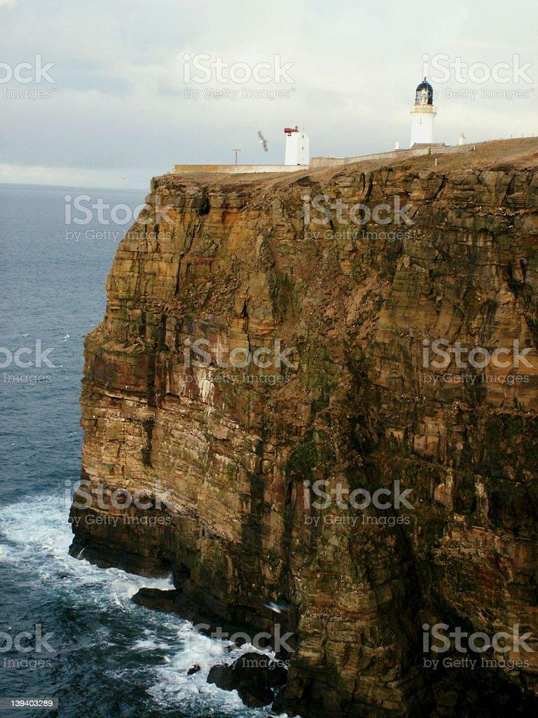 Dunnet Head, Caithness, Highland Scotland. stock photo