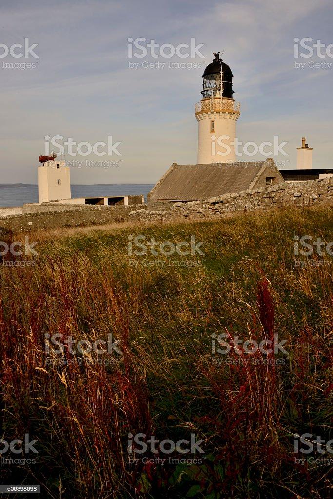 Dunnet Head Lighthouse stock photo