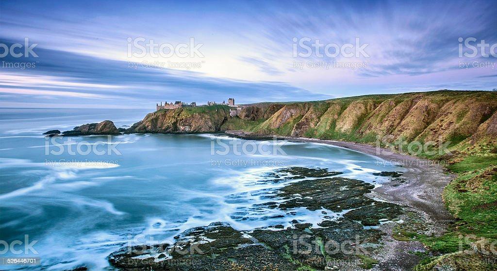Dunnotar Castle stock photo