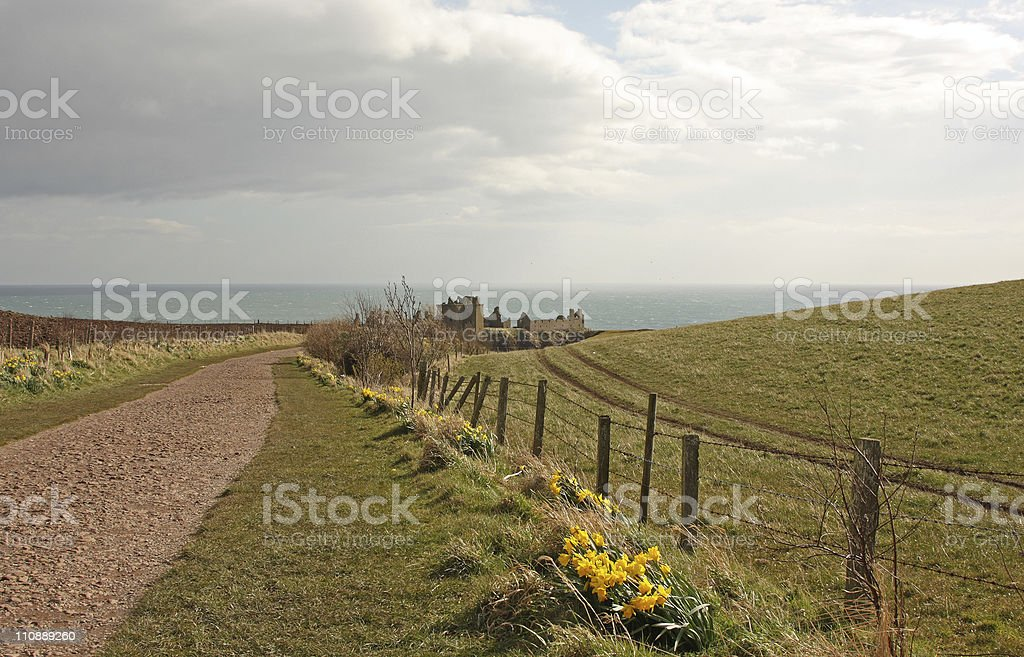Dunnottar Castle royalty-free stock photo