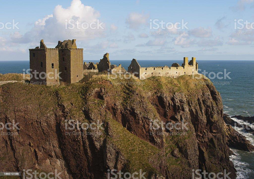 Dunnottar Castle stock photo