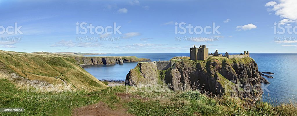 Dunnottar Castle, Scotland, Europe stock photo