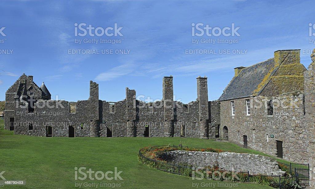 Dunnottar Castle, Scotland, Europe stock photo