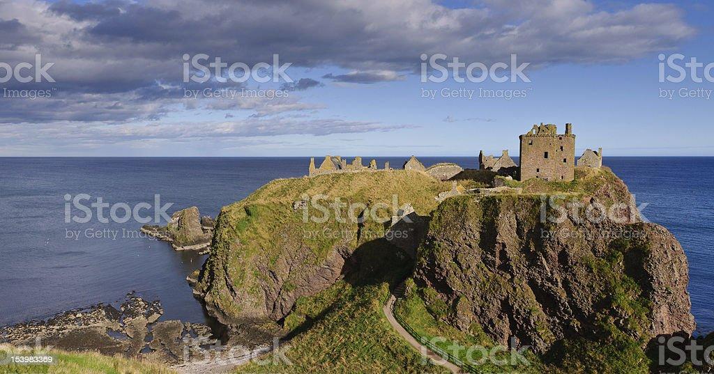 Dunnottar Castle Scotland stock photo