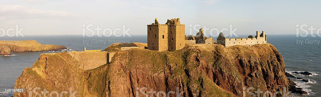 Dunnottar royalty-free stock photo
