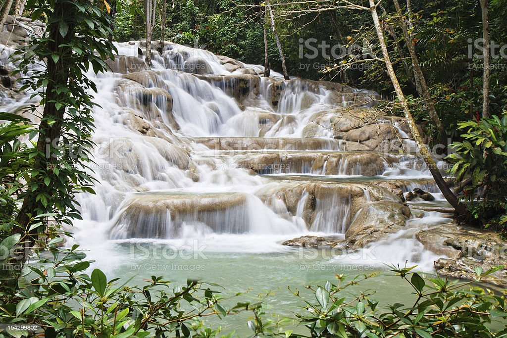 Dunn's River Falls royalty-free stock photo