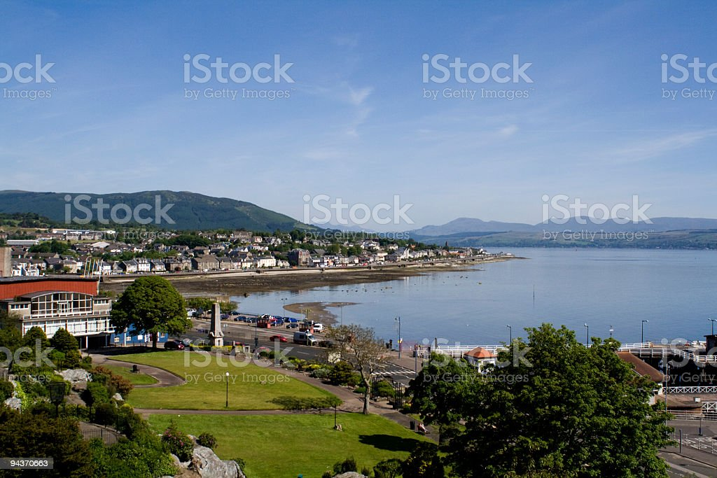 Dunoon stock photo