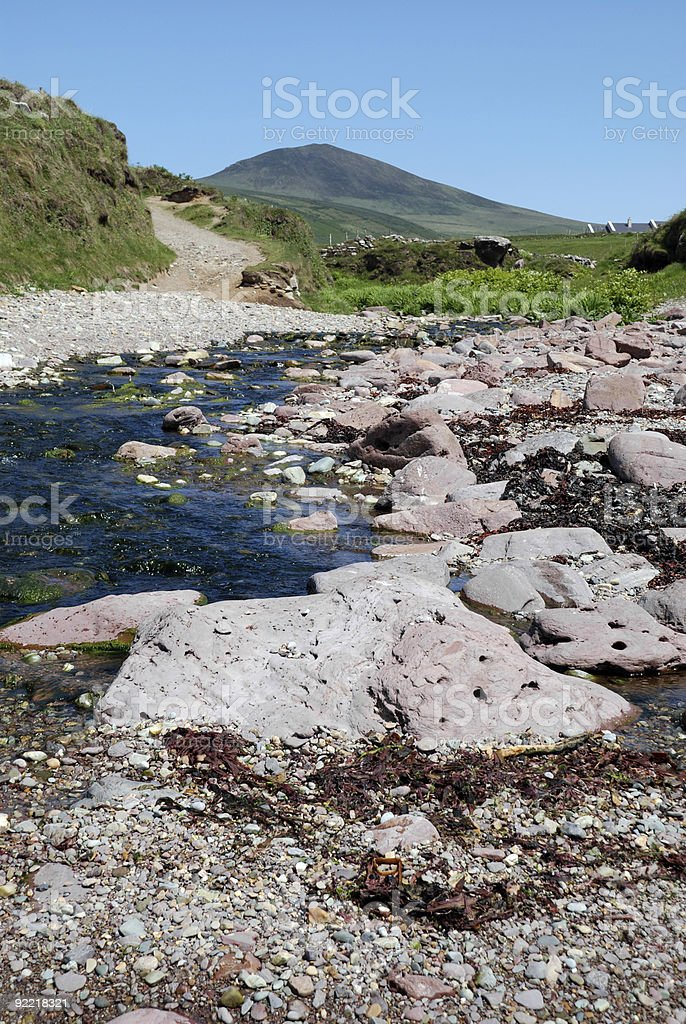 Dunquin, Ireland royalty-free stock photo