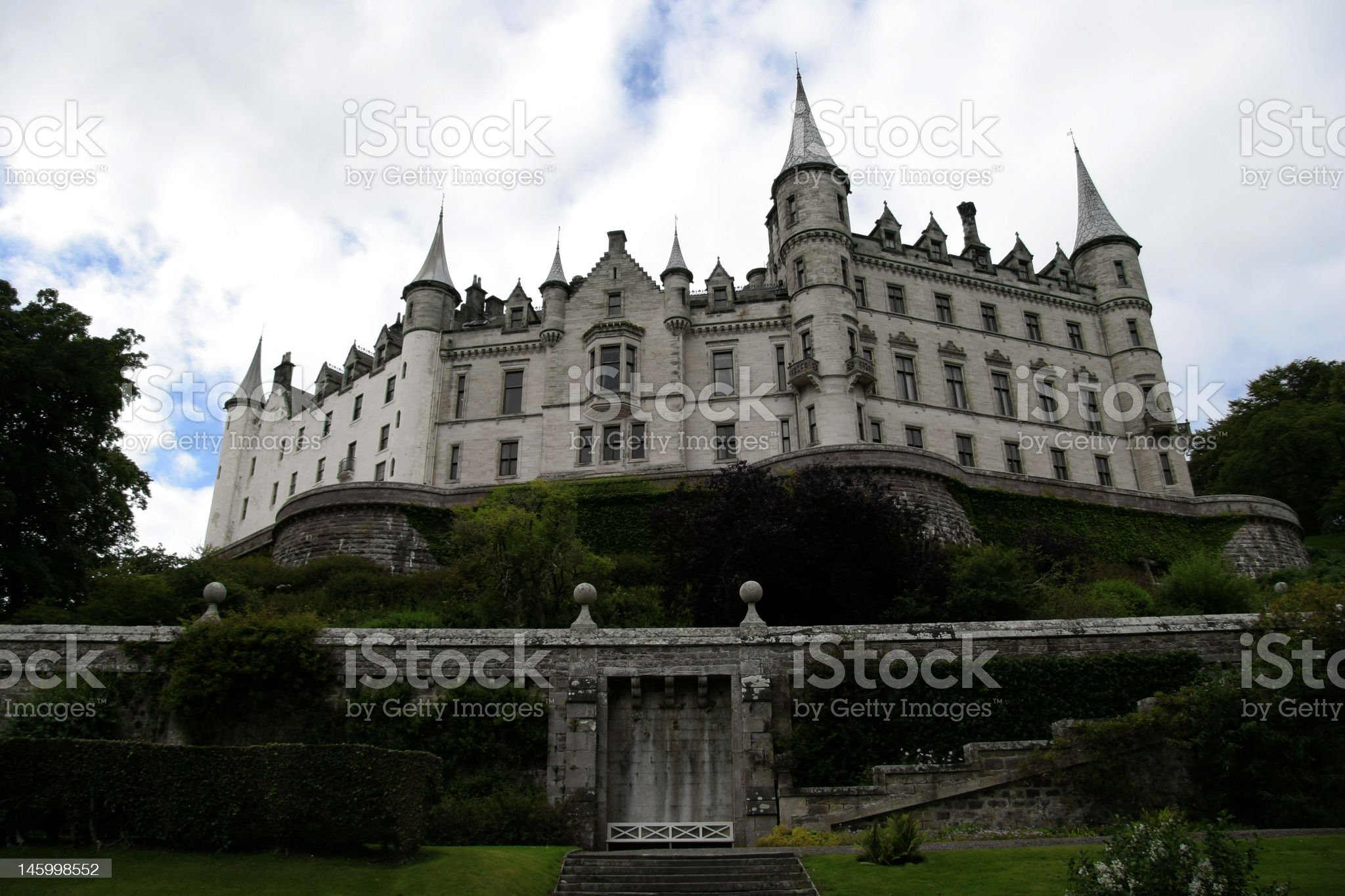 Dunrobin Castle royalty-free stock photo
