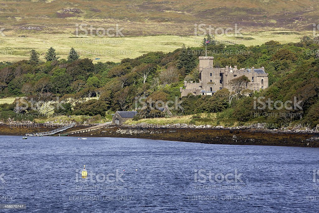 Dunvegan Castle royalty-free stock photo
