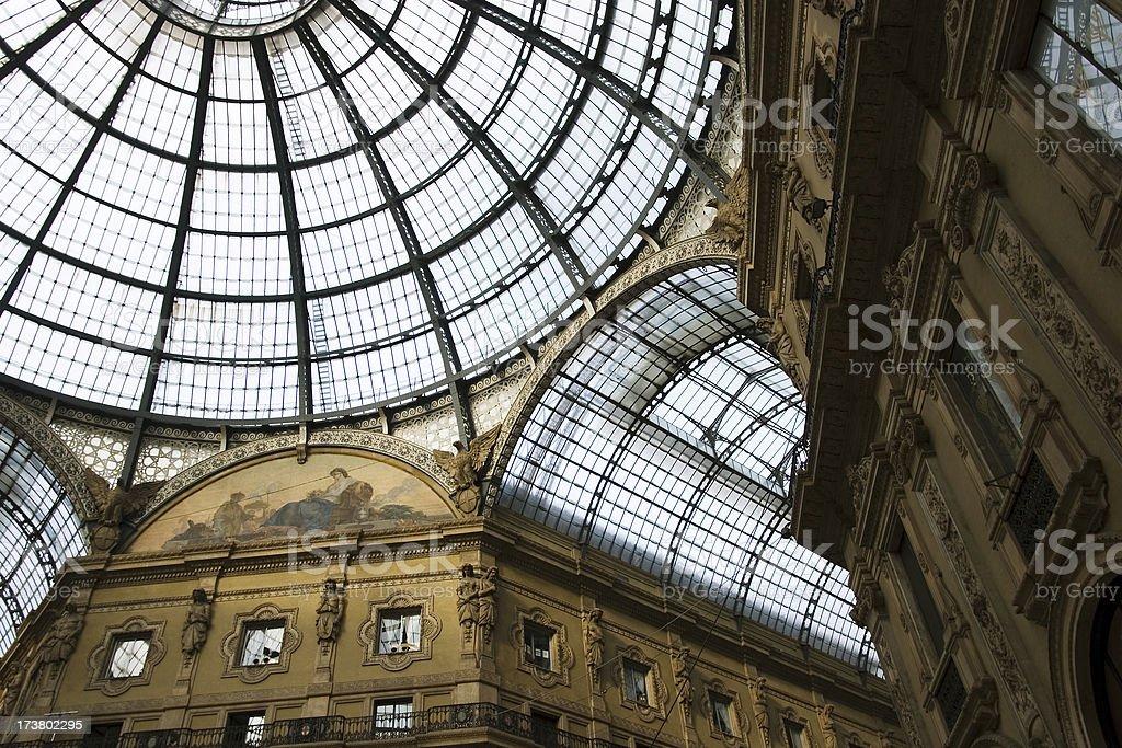 Duomo architecture, Milan royalty-free stock photo