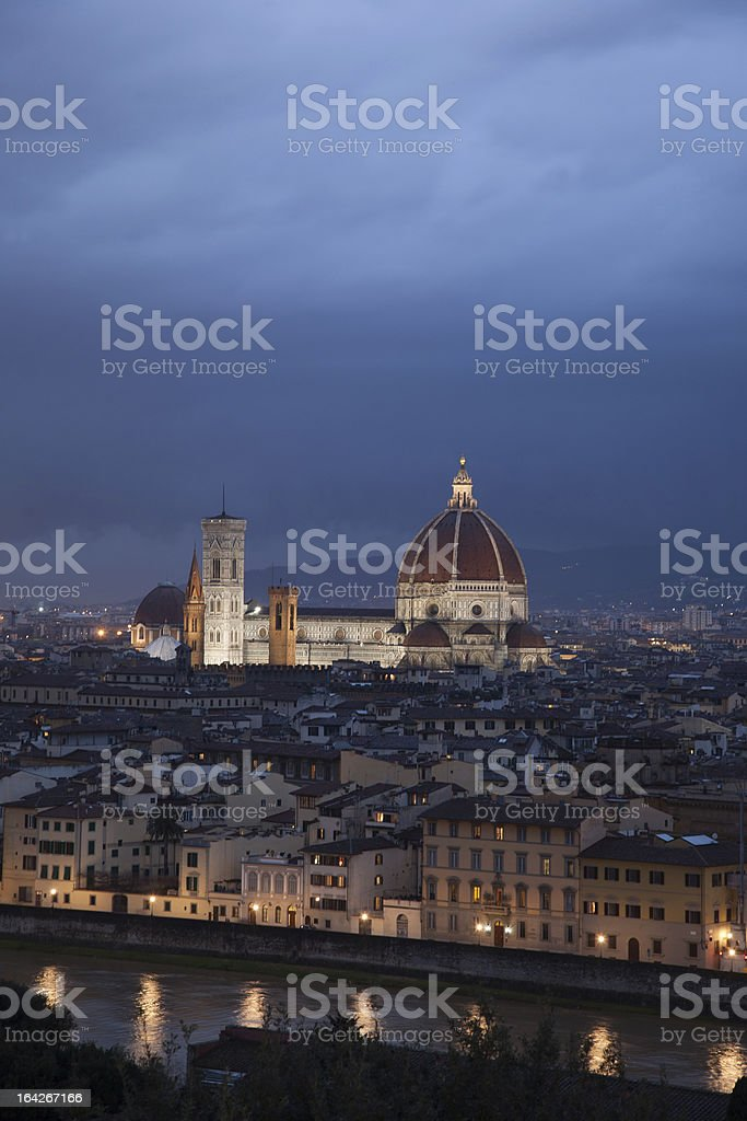Duomo Cathedral Church, Florence royalty-free stock photo
