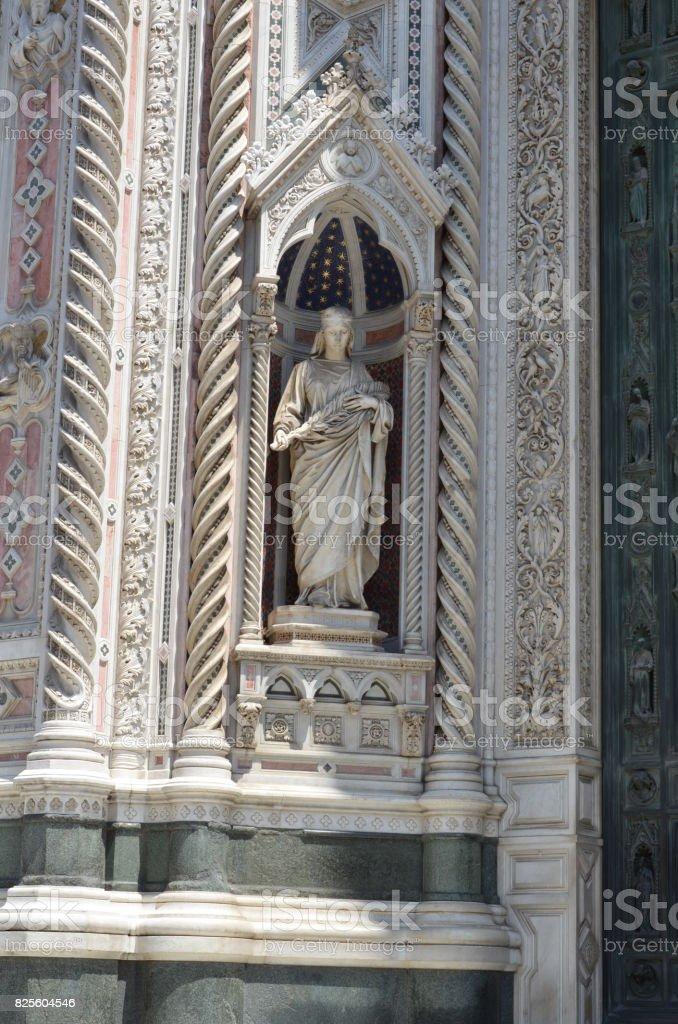 Duomo cathedral in Florence Italy stock photo