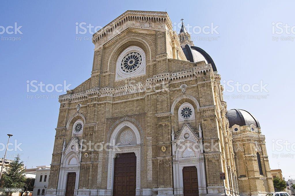 Duomo Cathedral of Cerignola. Puglia. Italy. stock photo
