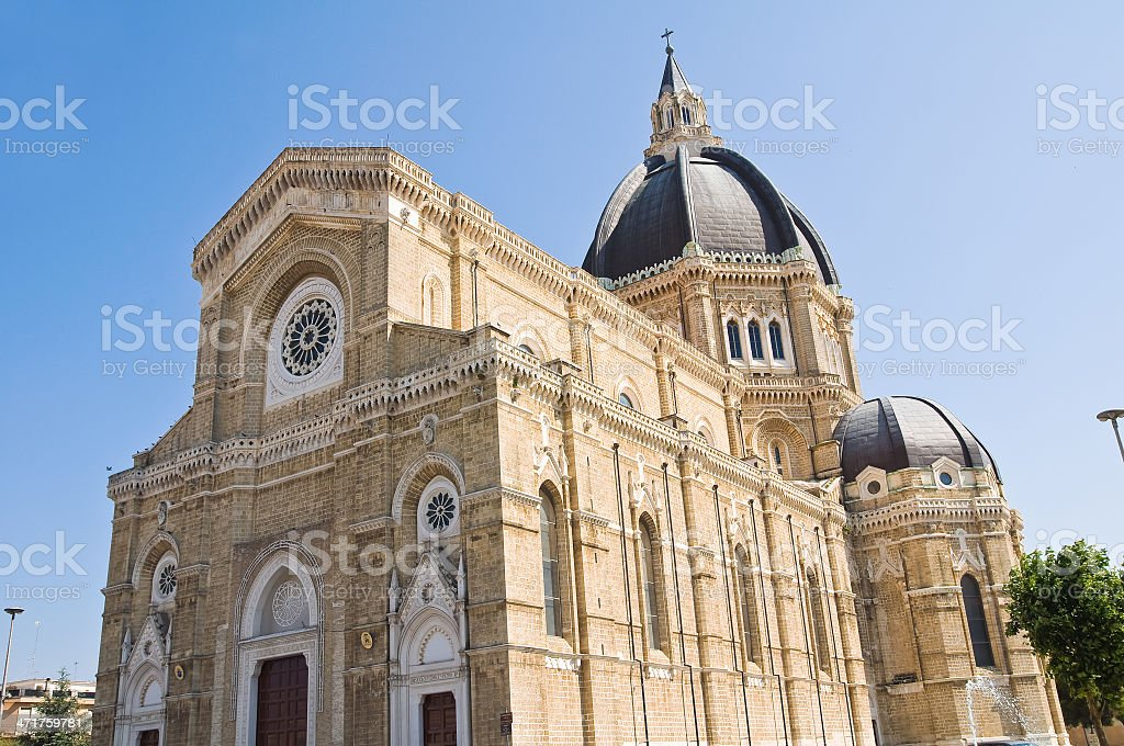 Duomo Cathedral of Cerignola. Puglia. Italy. royalty-free stock photo