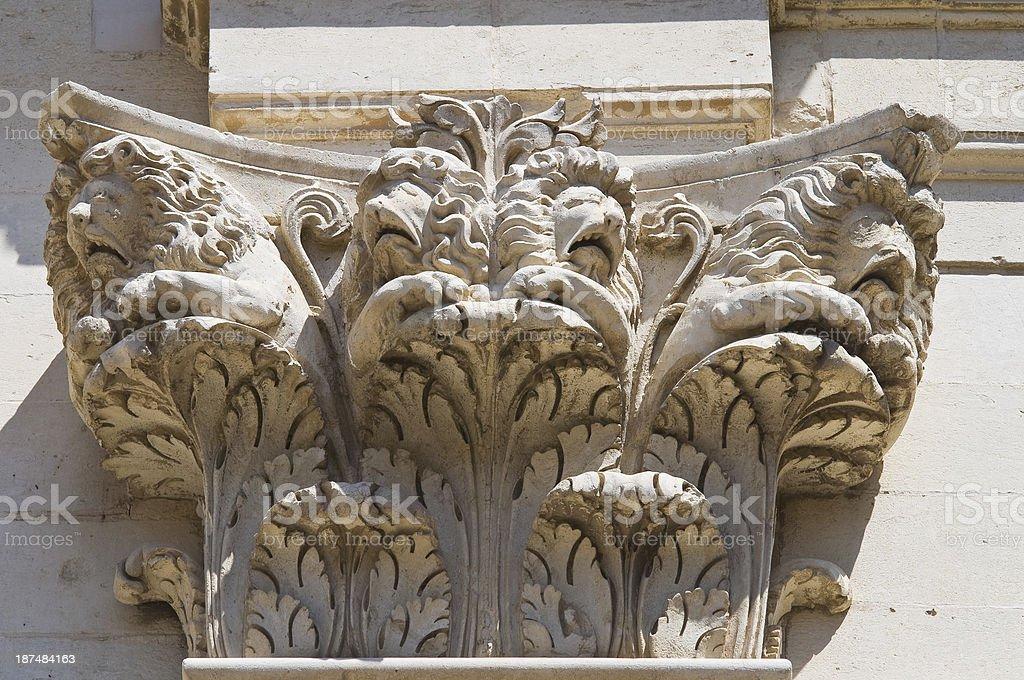 Duomo Church. Lecce. Puglia. Italy. royalty-free stock photo