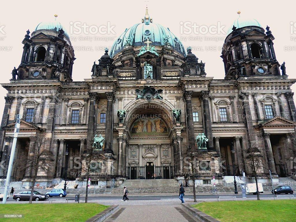 Duomo di Berlino stock photo