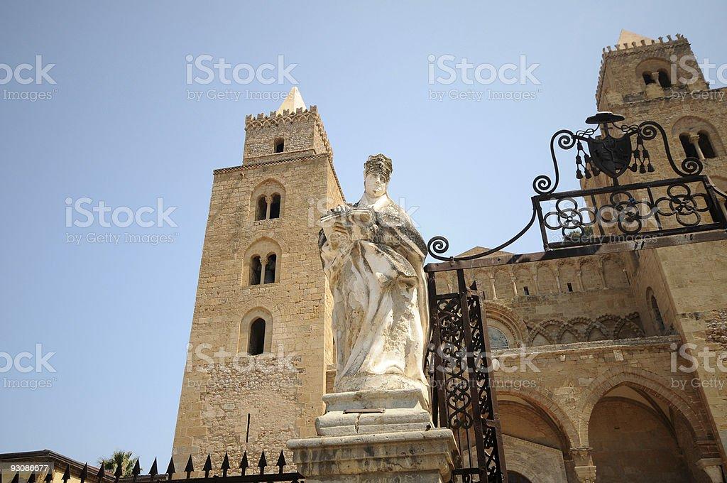 Duomo di Cefalù 3 royalty-free stock photo