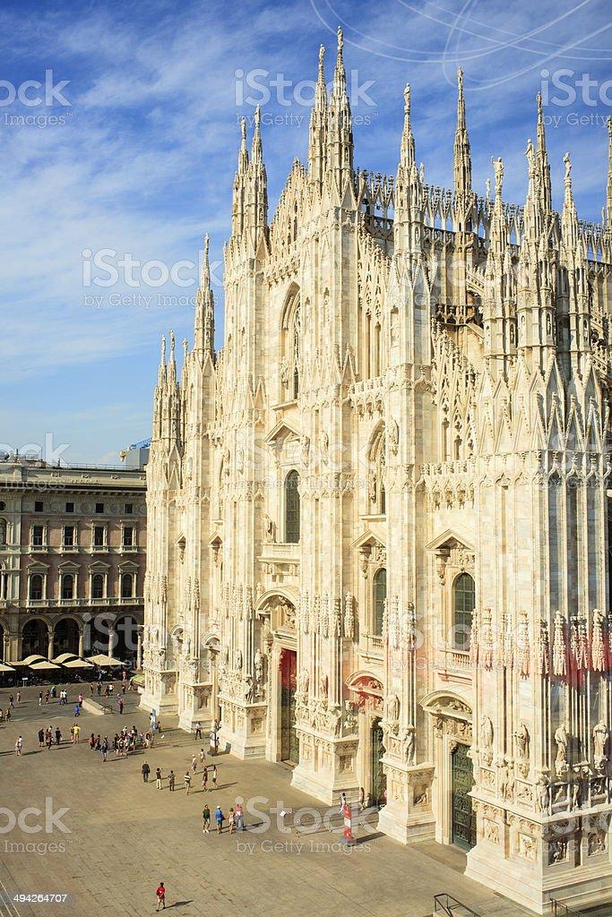 Duomo di milano - Milan cathedral stock photo