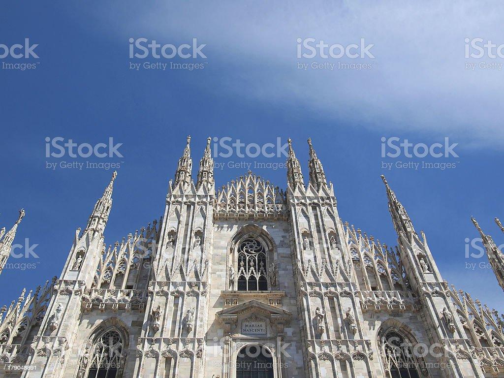 Duomo di Milano royalty-free stock photo
