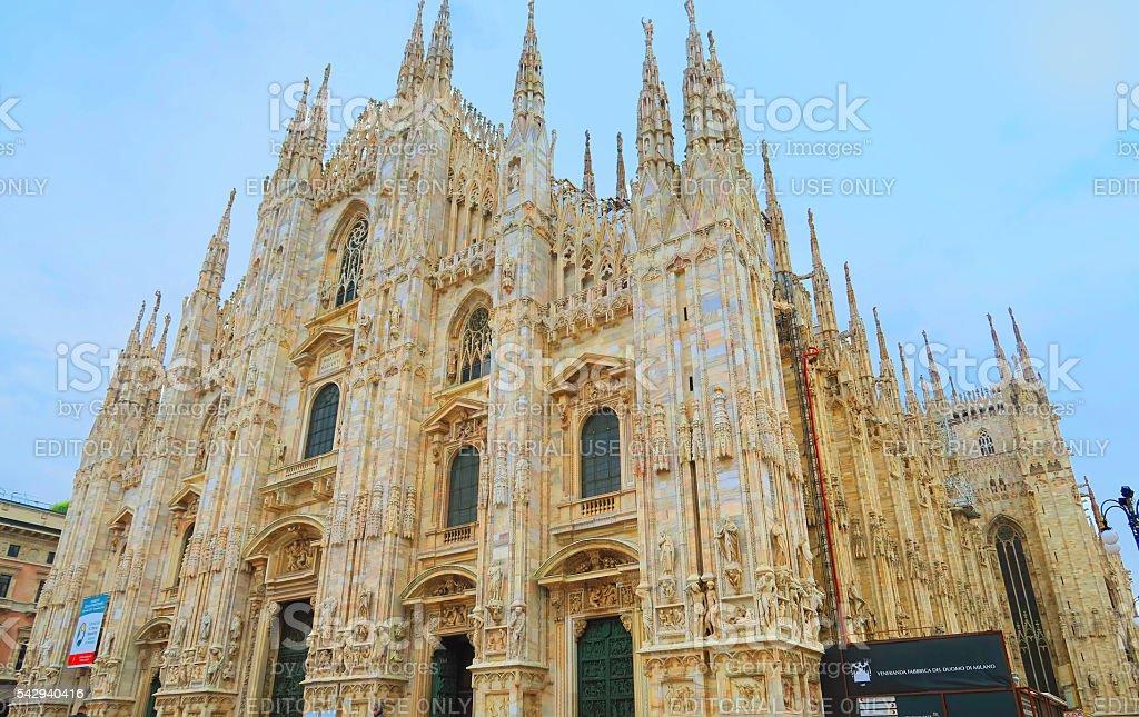 Duomo di Milano,Milan,Italy stock photo