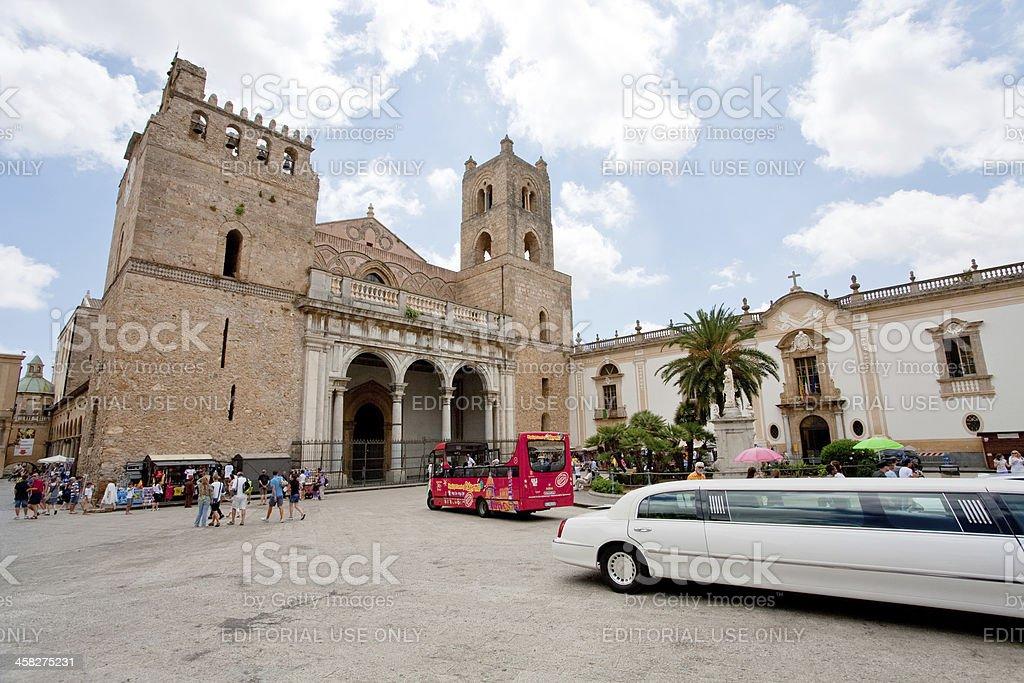 Duomo di Monreale, Sicily royalty-free stock photo