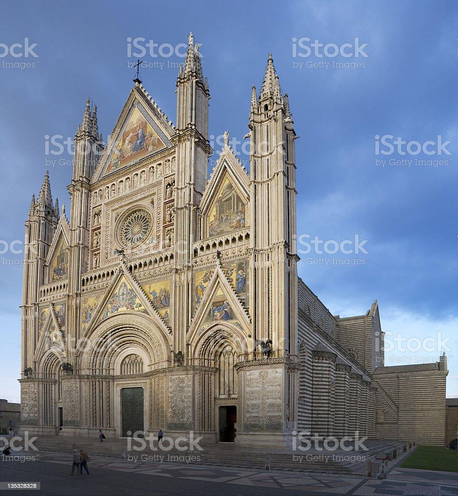 Duomo Di Orvieto FS stock photo