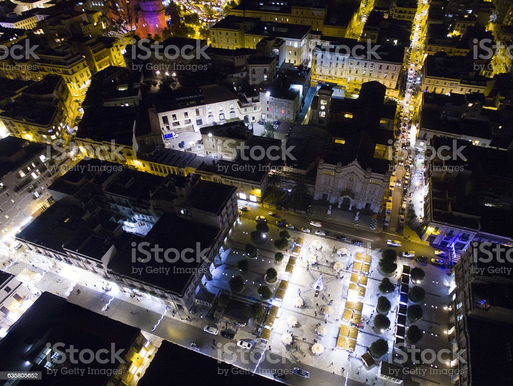 Duomo di Reggio Calabria stock photo