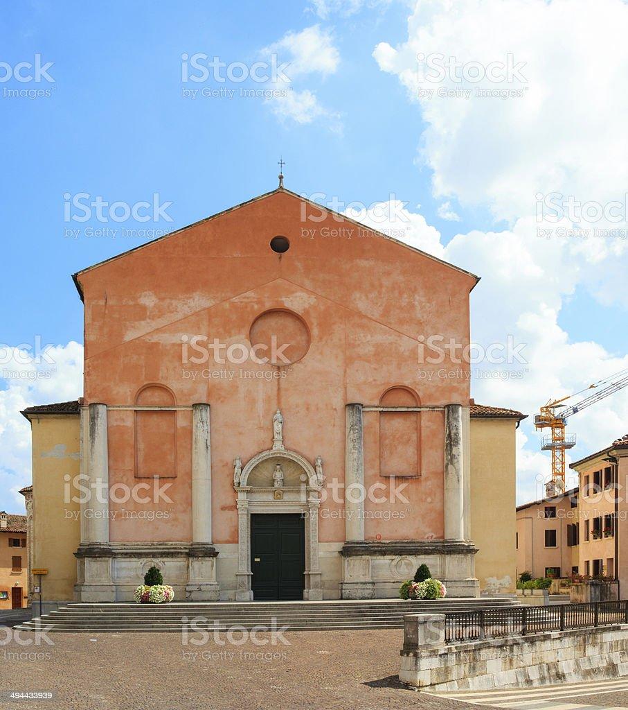 Duomo di San Marco, Pordenone stock photo