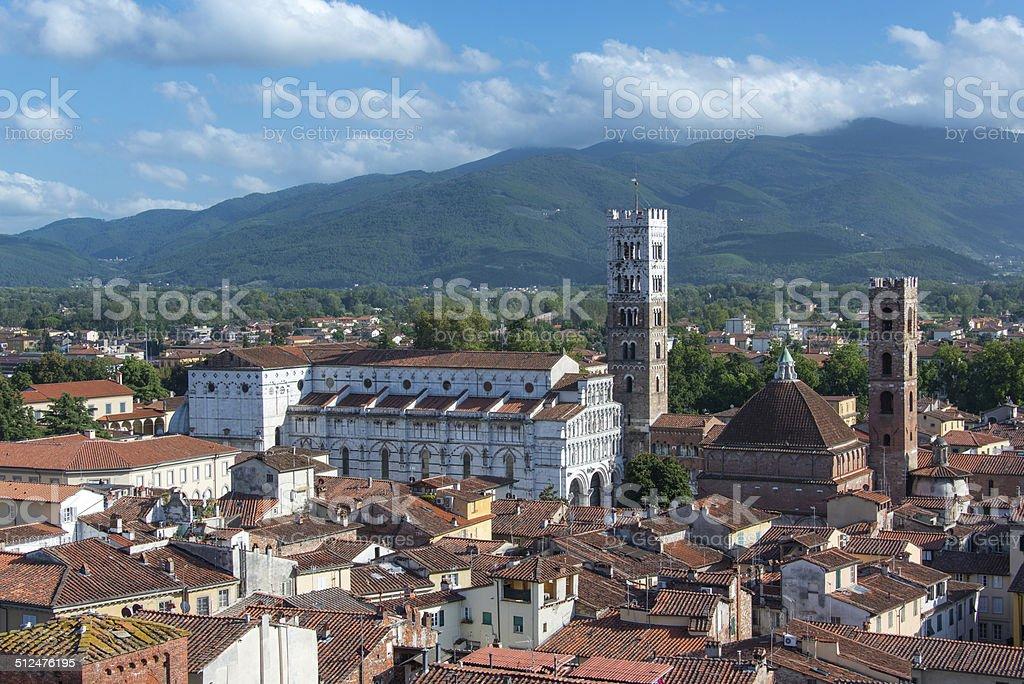 Duomo di San Martino stock photo